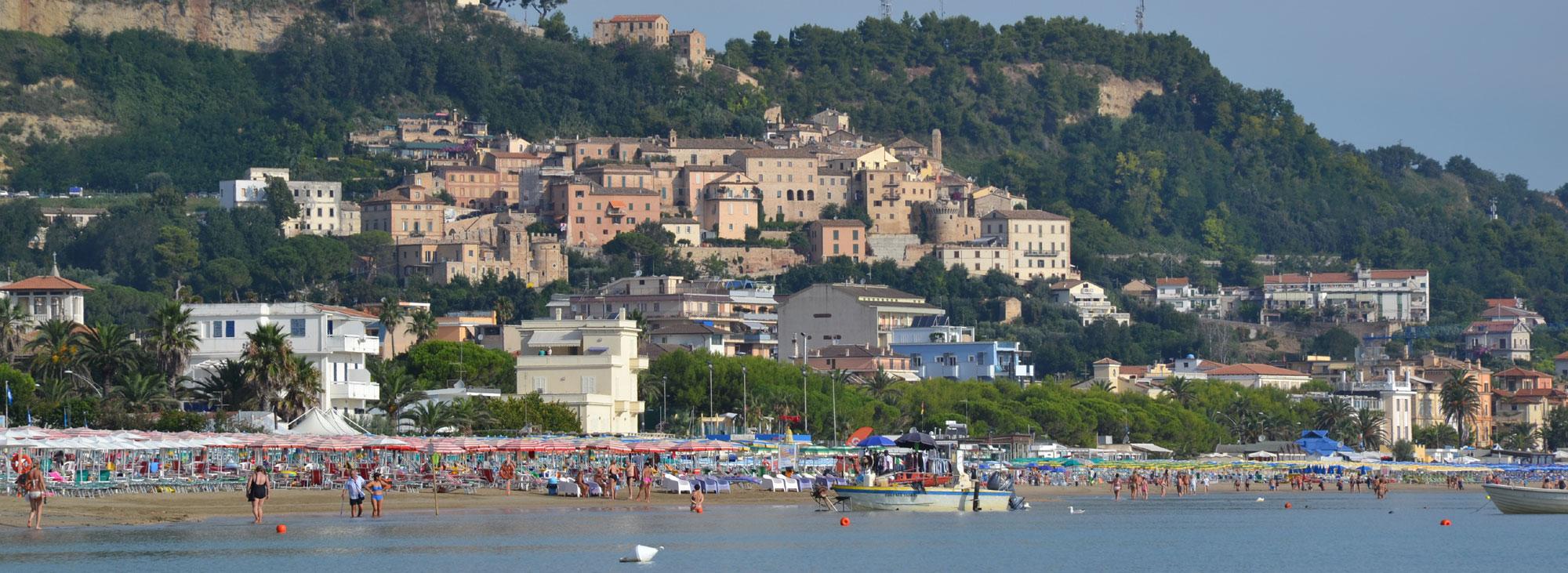 Borgo antico di <strong>Grottammare</strong>