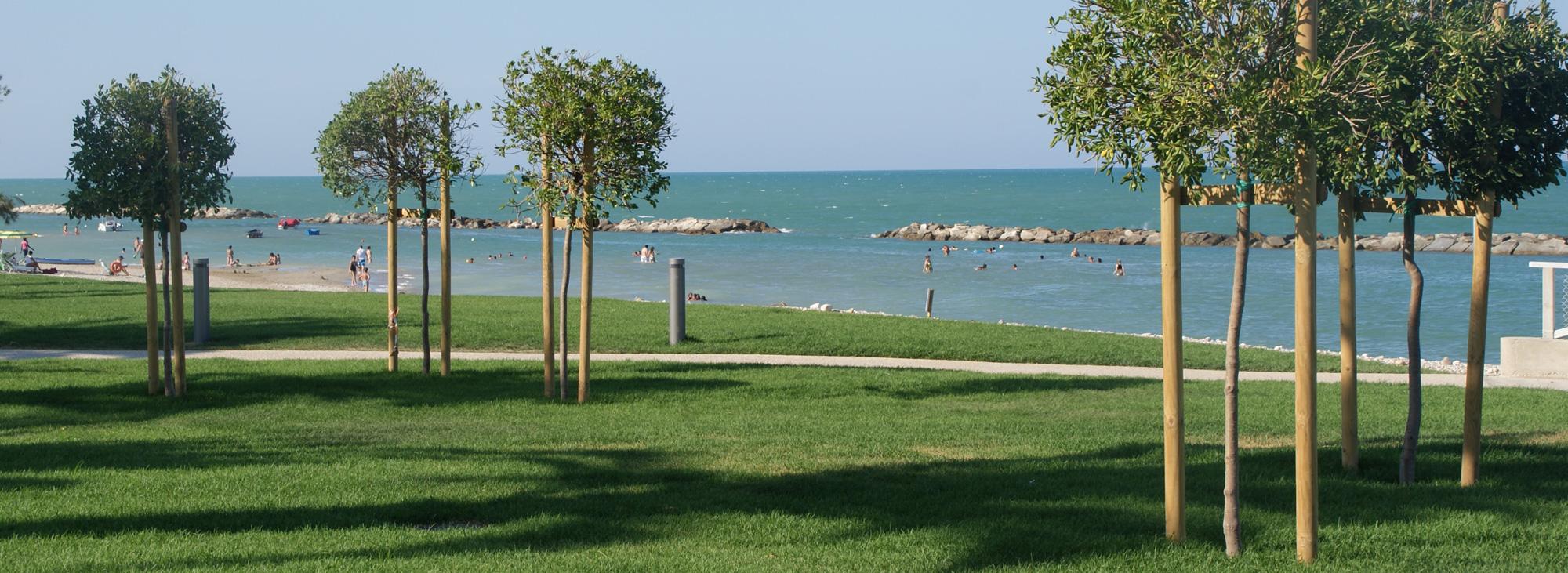 Un giardino sul mare